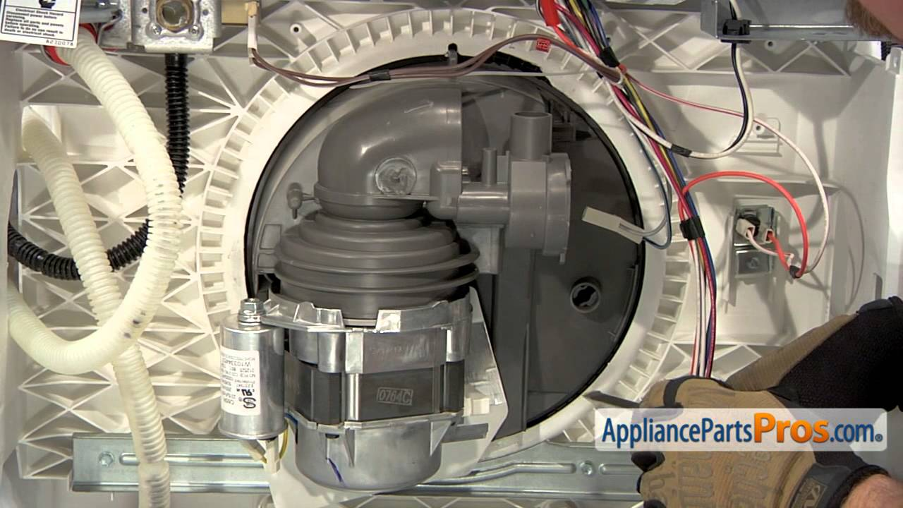 Dishwasher Circulation Pump and Motor Assembly (part #W10782773)How To Replace  YouTube