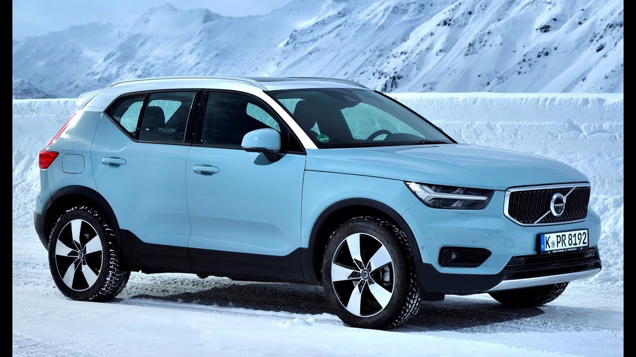 2019 volvo xc40 d4 awd test drive on ice youtube. Black Bedroom Furniture Sets. Home Design Ideas