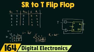 SR Flip Flop to T Flip Flop Conversion
