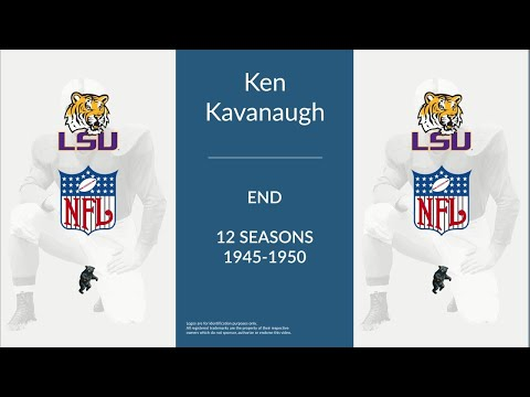 Ken Kavanaugh: Football End