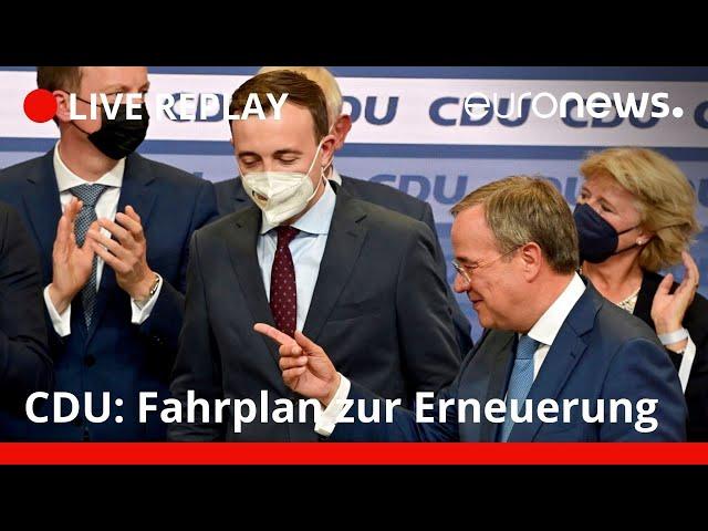 Nach Bundestagswahl: Wie geht es bei der CDU weiter?
