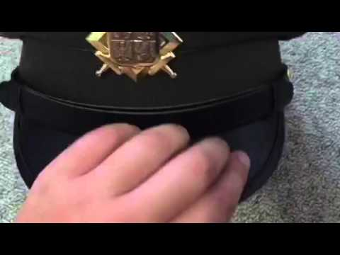 East German officer's hat review