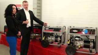 видео Генератор бензиновый Briggs & Stratton 7500EA Elite с электростартером | Генераторы бензиновые | Генераторы и Электростанции | КингГарден