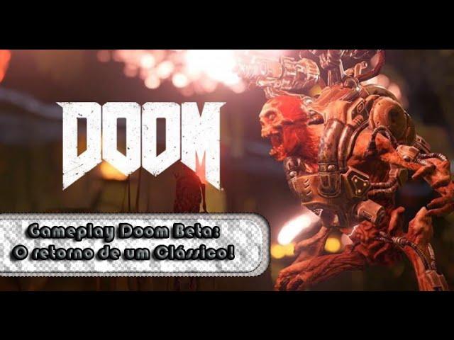 Gameplay Doom Beta - O Retorno de um classico