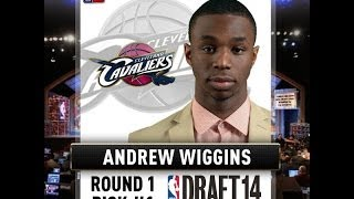 2014 NBA Draft Andrew Wiggins No. 1 Overall Pick