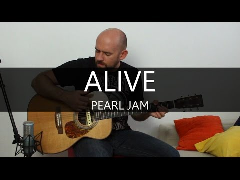 Alive (Pearl Jam) - Fingerstyle Acoustic Guitar Solo Cover