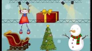 Новогодняя игра для детей по развитию речи