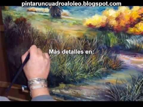 Pintar oleo principiantes para principiantes que quieran - Pintar en lienzo para principiantes ...