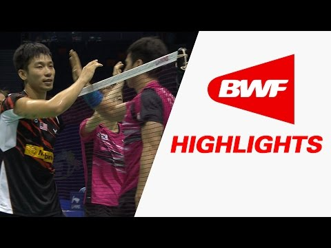 VIVO BWF Sudirman Cup 2015 | Badminton Day 1 - Korean vs Malaysia - Highlights