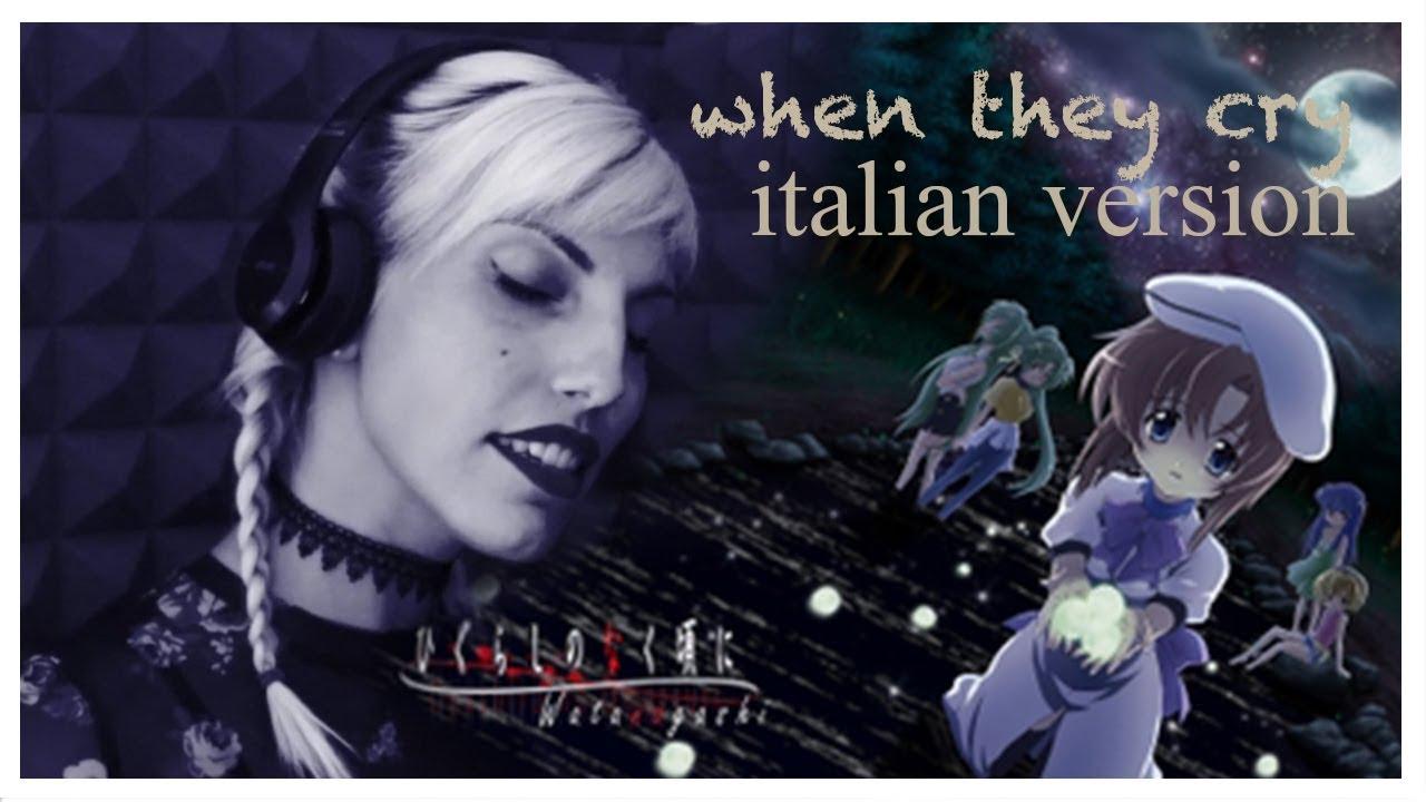 """Download WHEN THEY CRY - """"Higurashi No Naku Koro Ni"""" - Italian Version - Midelle"""