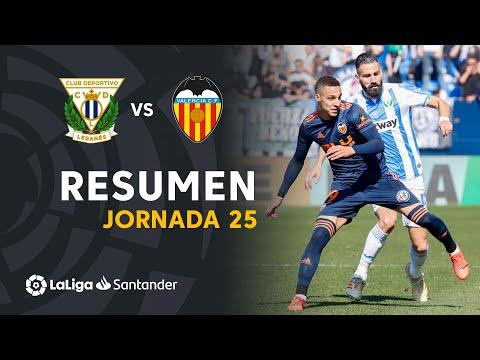Resumen de CD Leganés vs Valencia CF (1-1)