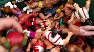 wrestling figure toy hunt