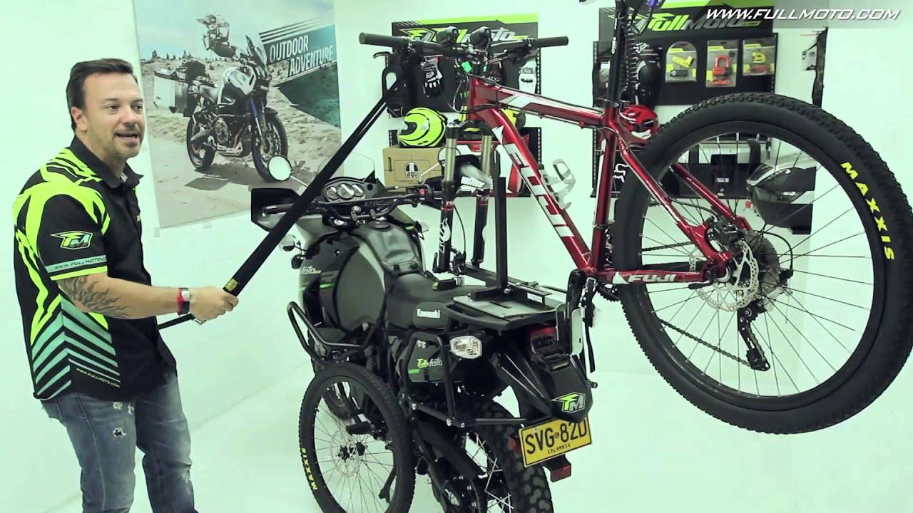 Portabicicletas Para Moto Youtube