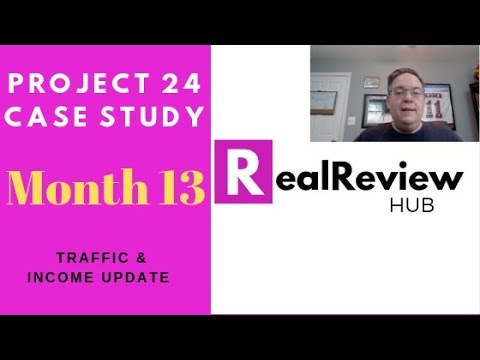 Income School Project 24 Review Month 13 Update