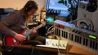 Octatrack + Oscilloscope Fun