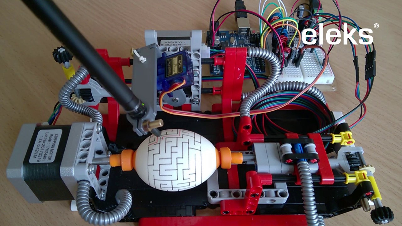 An Arduino-powered Egg Printer with the warmest Easter wishes from the  ELEKS team