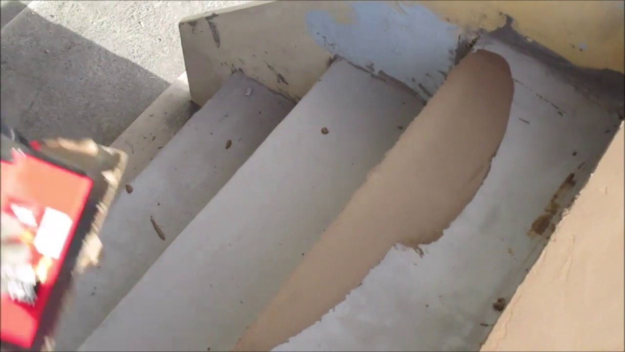 Beton Cire Exterieur Avis diy : how to create micro concrete stairs ?
