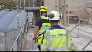 God helg; Yara Glomfjord rehabiliterer fabrikkbygningene