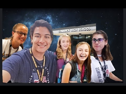 First Week of School 2018!   Commack High School   Zad AT Vlogs