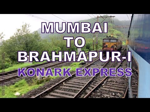 SH23 Train Vlog Part 1 Mumbai to Hyderabad On board KONARK Express CR&SCR