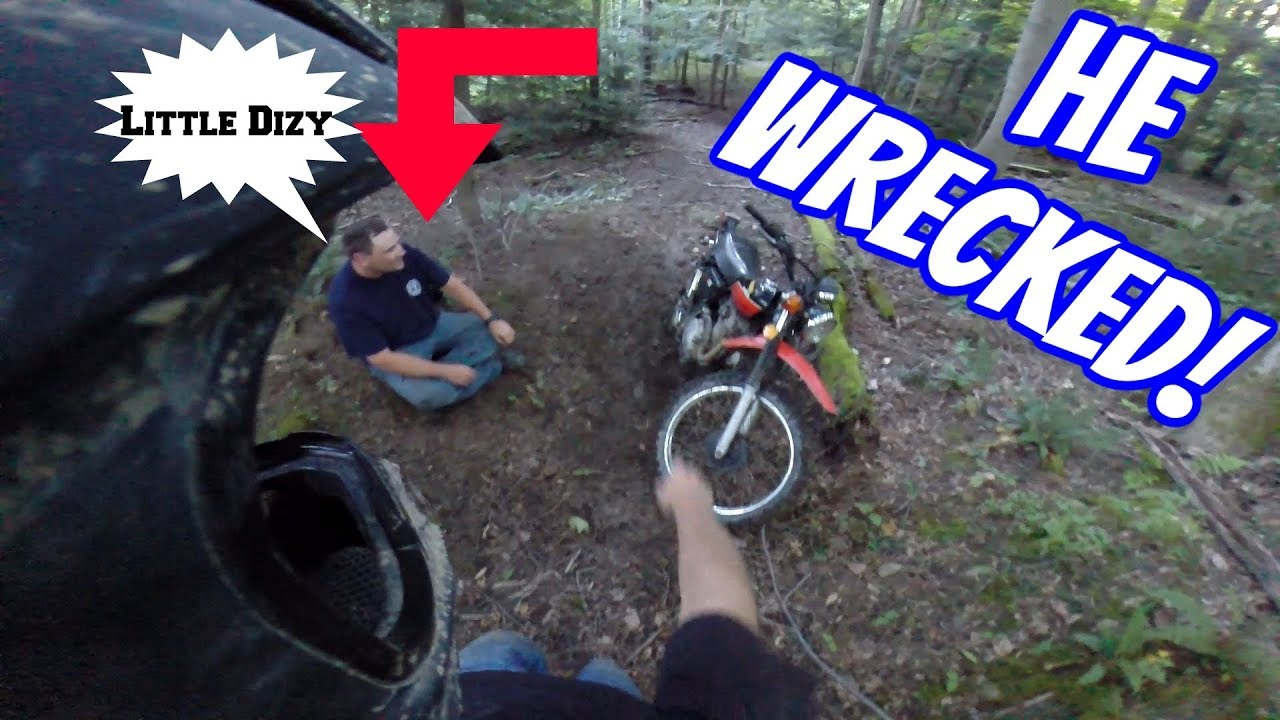 First Ride Ends Badly!! Video