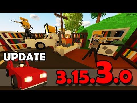 Unturned - UPDATE 3.15.3.0: Sentry, Móveis, Oxigenador e Muito Mais!!
