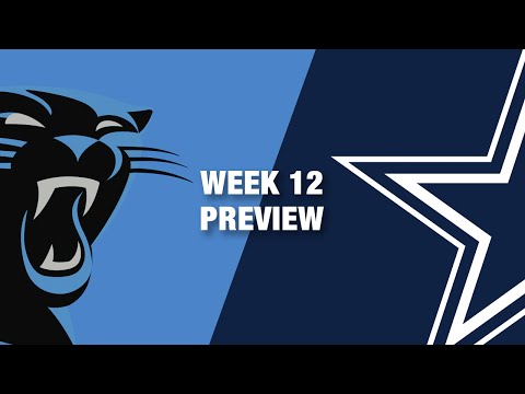 Panthers vs. Cowboys Preview (Week 12) | NFL