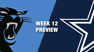 Panthers vs. Cowboys Preview (Week 12) | NFL