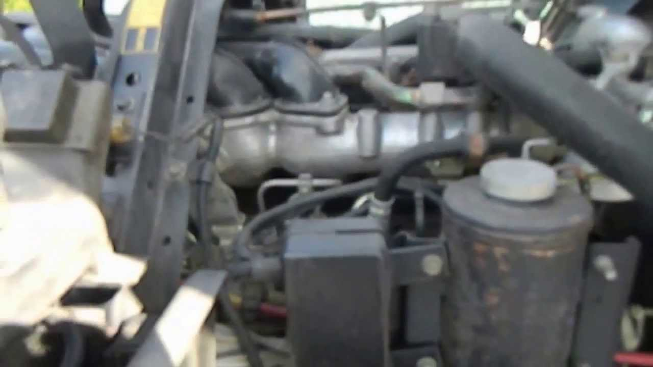 hight resolution of gmc 5000 diesel engine idle