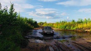 mazda bt50 offroad. jeep liberty offroad. part2