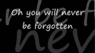 jessica Andrews - you will never be forgotten lyrics.avi