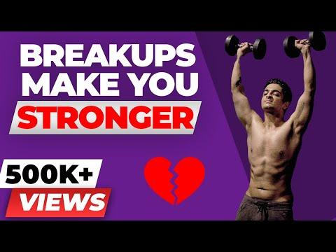 Break ups make you STRONGER Break up Motivation BeerBiceps Fitness Motivational Video