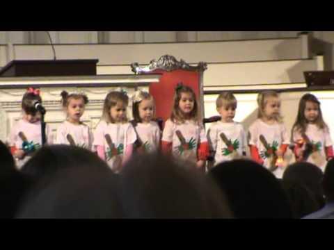 First Baptist Preschool Christmas Program