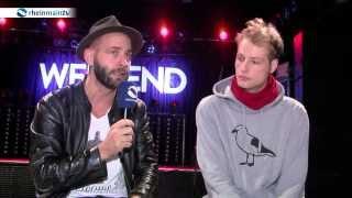 Rapper Weekend spricht über Cro, Jürgen Klopp und seinen Schatz