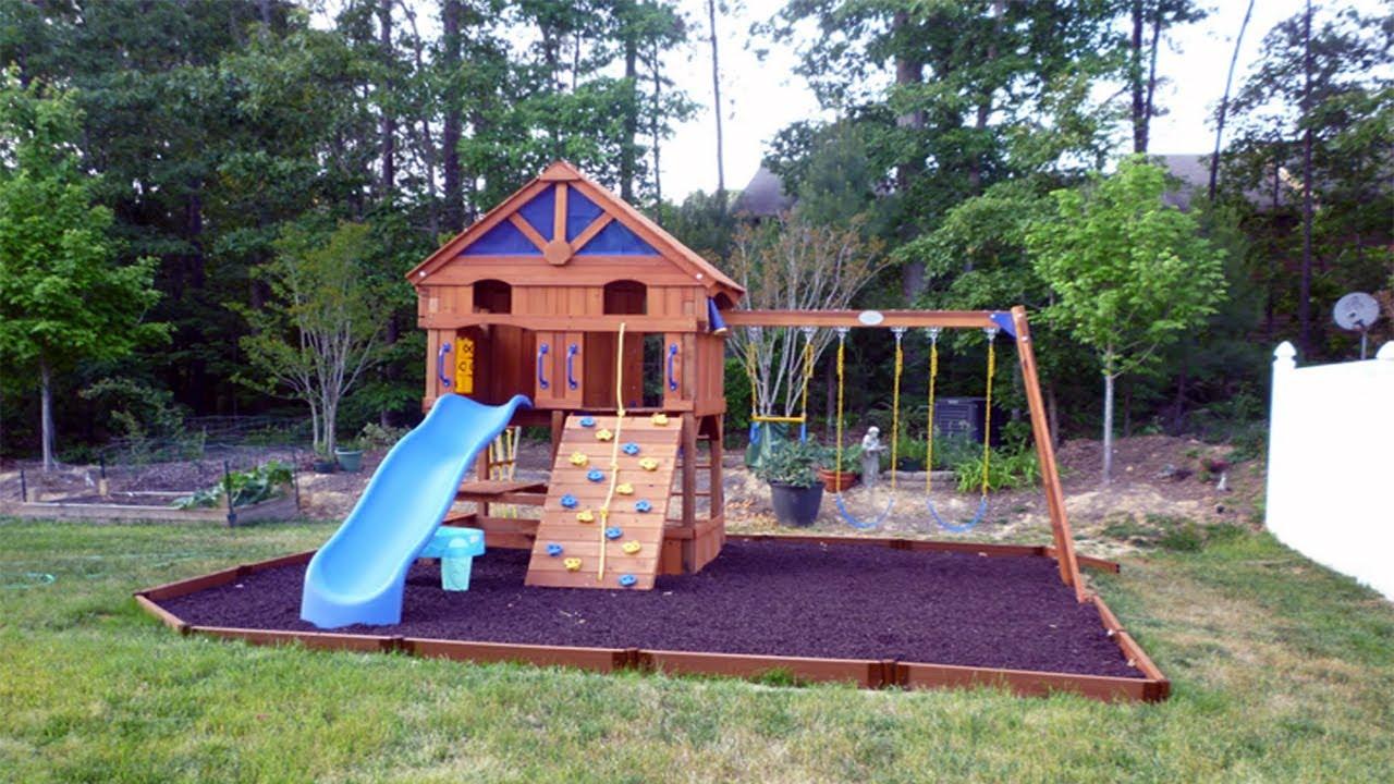 Cheap Backyard Ideas No Grass, DIY Backyard Ideas For Kids ... on Cheap No Grass Backyard Ideas  id=90515