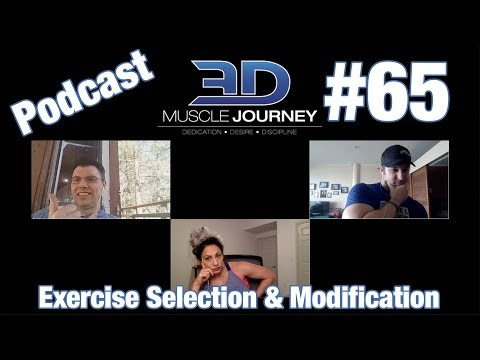 3DMJ Podcast #65: Exercise Selection & Modification