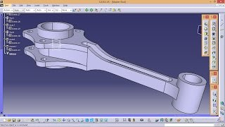 Catia Tutorials\How to create Radial Engine Assembly\ Design of Master Rod part_1