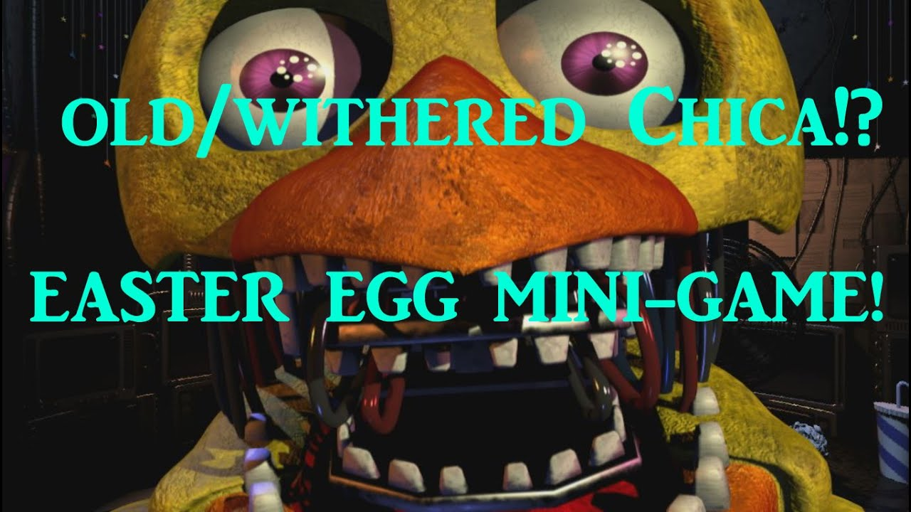 Me and Withered Chica | Five Nights At Freddy'-s | Pinterest | FNAF ...