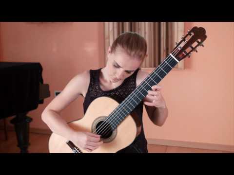 Francisco Tárrega - Capricho Árabe (performed by Karmen Stendler)