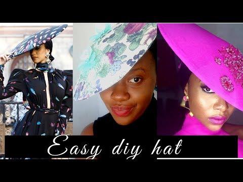 diy hat   (bespoke hat 2018)
