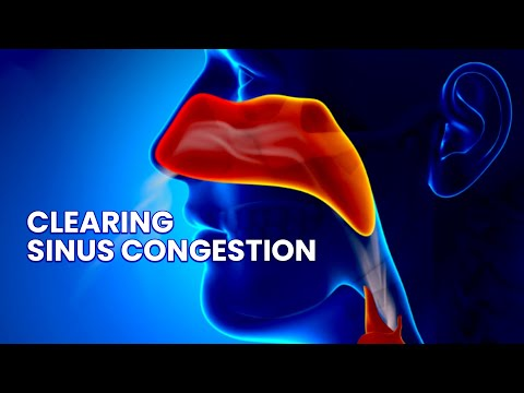 Clearing Sinus Congestion and Infection/Head Cold-Binaural Beats Sound Therapy-Nasal Congestion