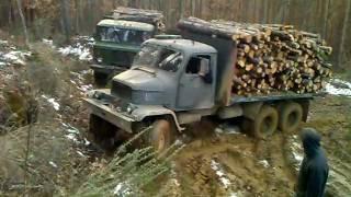GAZ-66 и PRAGA-V3S