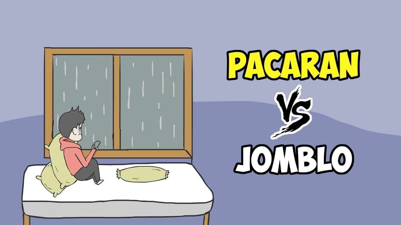 Perbedaan Pacaran VS Jomblo Kartun Lucu Animasi Lucu Funny Cartoon