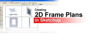 Creating 2d Plans For Your Picture Frame