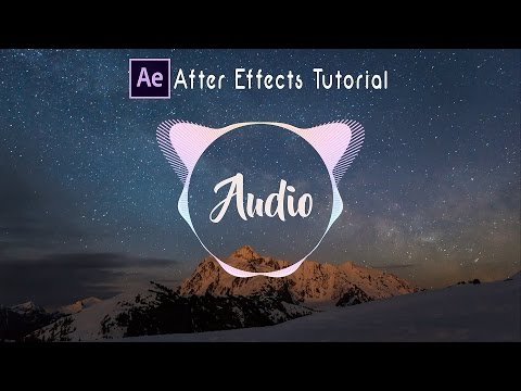 Affter Effects Tutorial : Audio Spectrum | Trap Nation