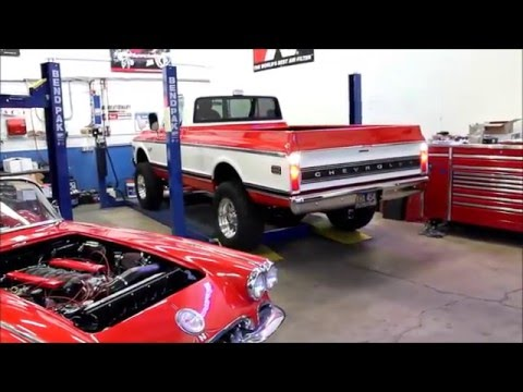 1972 Chevy Truck With Supercharged Lsa Engine Metalworks Clic Auto Restoration