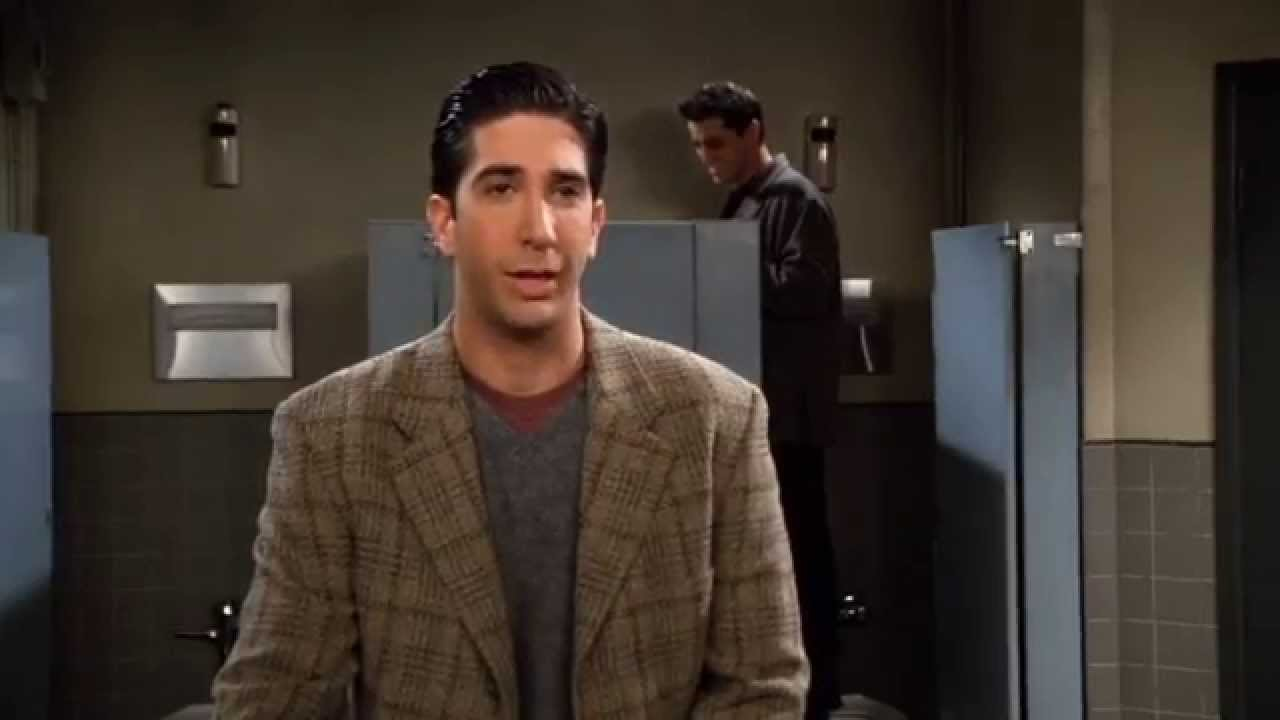 Friends Chandler in Bathroom Stall Scene HQ  YouTube