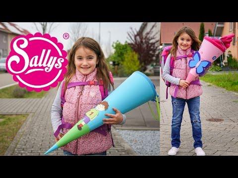 Schultüte basteln DIY / Schultüte & Schulranzen gewinnen / Sallys Welt