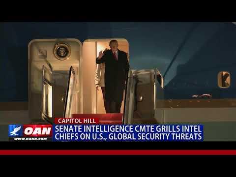 Senate Intelligence Committee Grills Intel Chiefs on U.S., Global Security Threats
