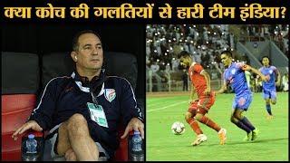 Oman स ह र Indian Football Team लगभग खत म ह आ Qatar 2022 म पह चन क च स